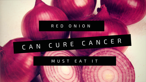red onion prevent you from cancer