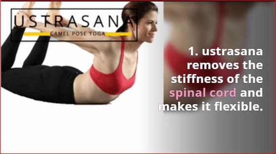 ustrasana benefits