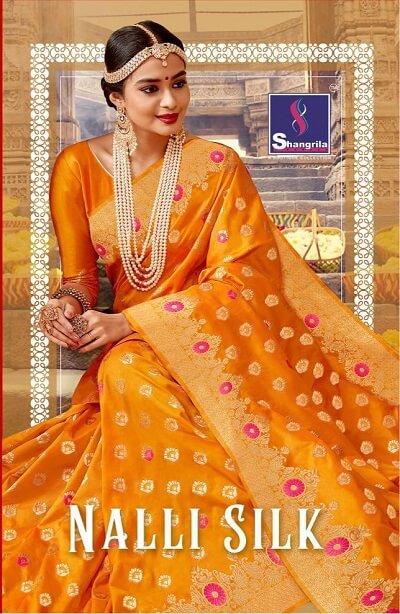 Nalli Silk Saree