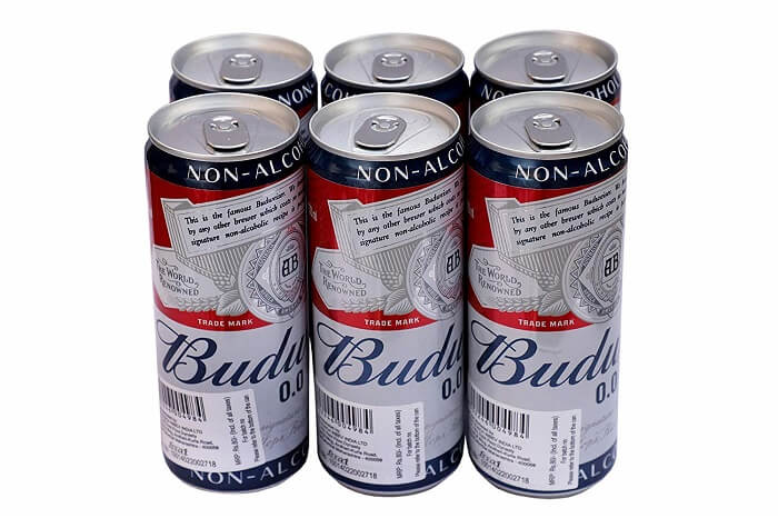 Budweiser beer brand in india
