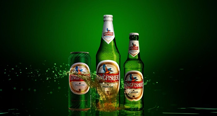 Kingfisher beer brand in india