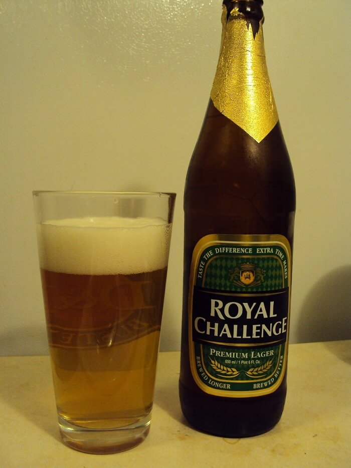 Royal Challenge beer brand in india