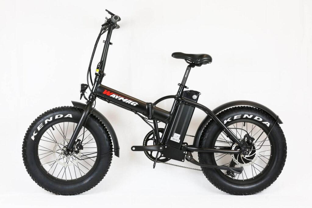 Ebike electric bike e-Fatbike folding bike Waymag WMX20s - 1000 Watt