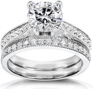 Moissanite Bridal Sets Right